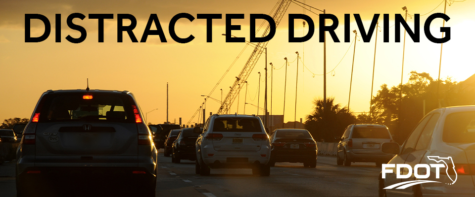 Image Banner for the Distracted Driver Awareness Webpage