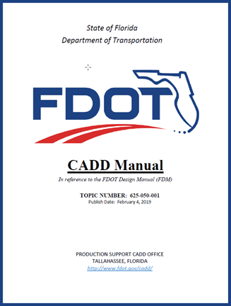 CADD Manual FDM Cover