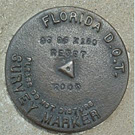 Florida D.O.T. Survey Marker