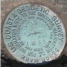 u.s. coast and geodetic survey bench mark