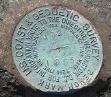 Picture of surveying bench mark