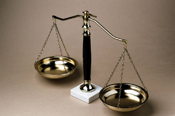 Picture of a Legal Balance