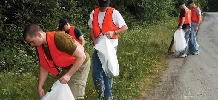 Picture of Adopt-A-Highway Volunteers