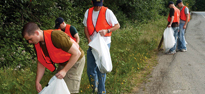 Picture of Adopt-A-Highway Volunteers