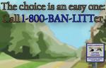 1-800-BAN-LITTer Logo
