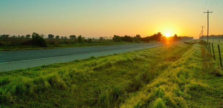 Florida rural road