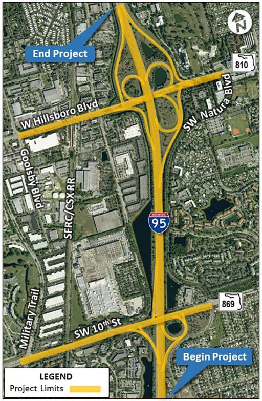SR9 Aerial Map