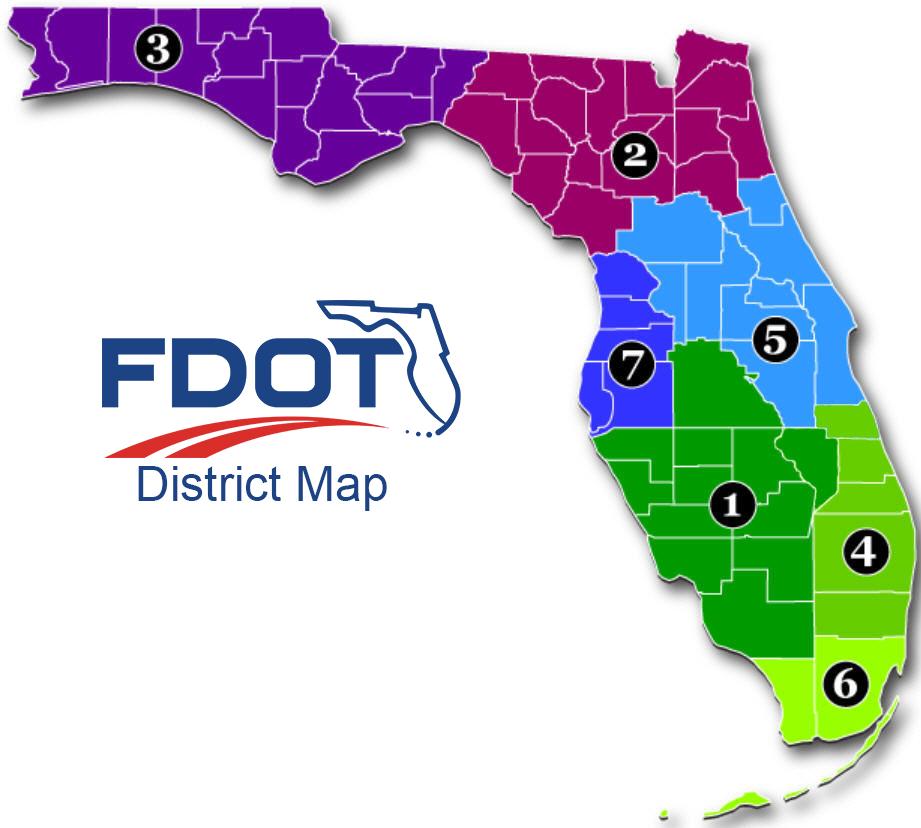 Florida District Map