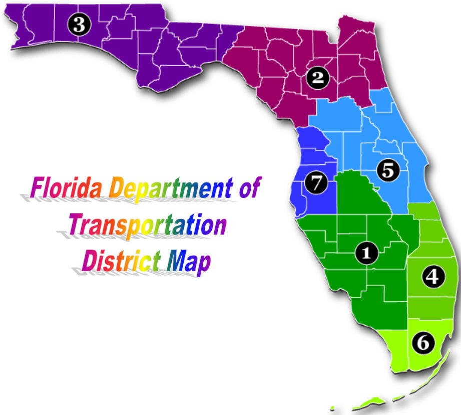 Florida District Map