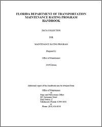 maintenance rating program