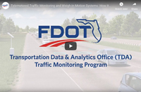 Transportation Data Analytics Office (TDA) Traffic Monitoring Program