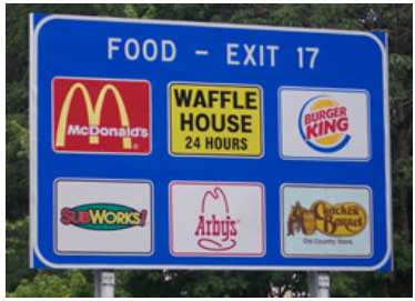 Picture of a Logo Sign
