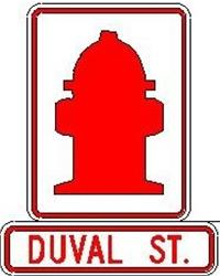 duval st. hydrant