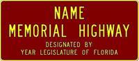 name memorial highway