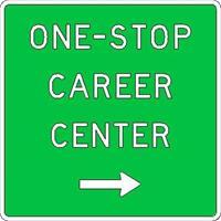 Career Center Sign
