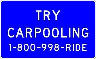 Try Carpooling