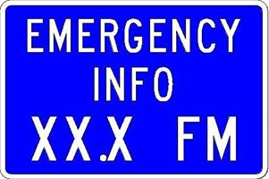 Emergency Radio Info