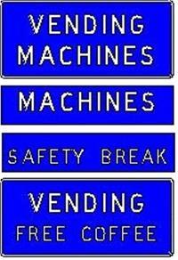 Vending Machine Sign