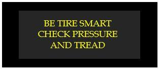 be tire smart check pressure and tread