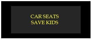 car seats save kids