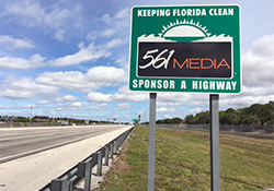 Florida's Turnpike – Sponsor-A-Highway