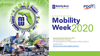 Mobility Week 2020 Summary of Events Presentation