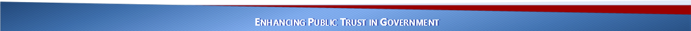 Enhancing Public Trust in Government footer