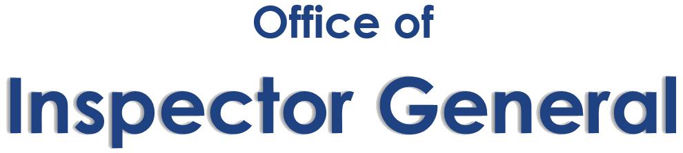 OIG office header