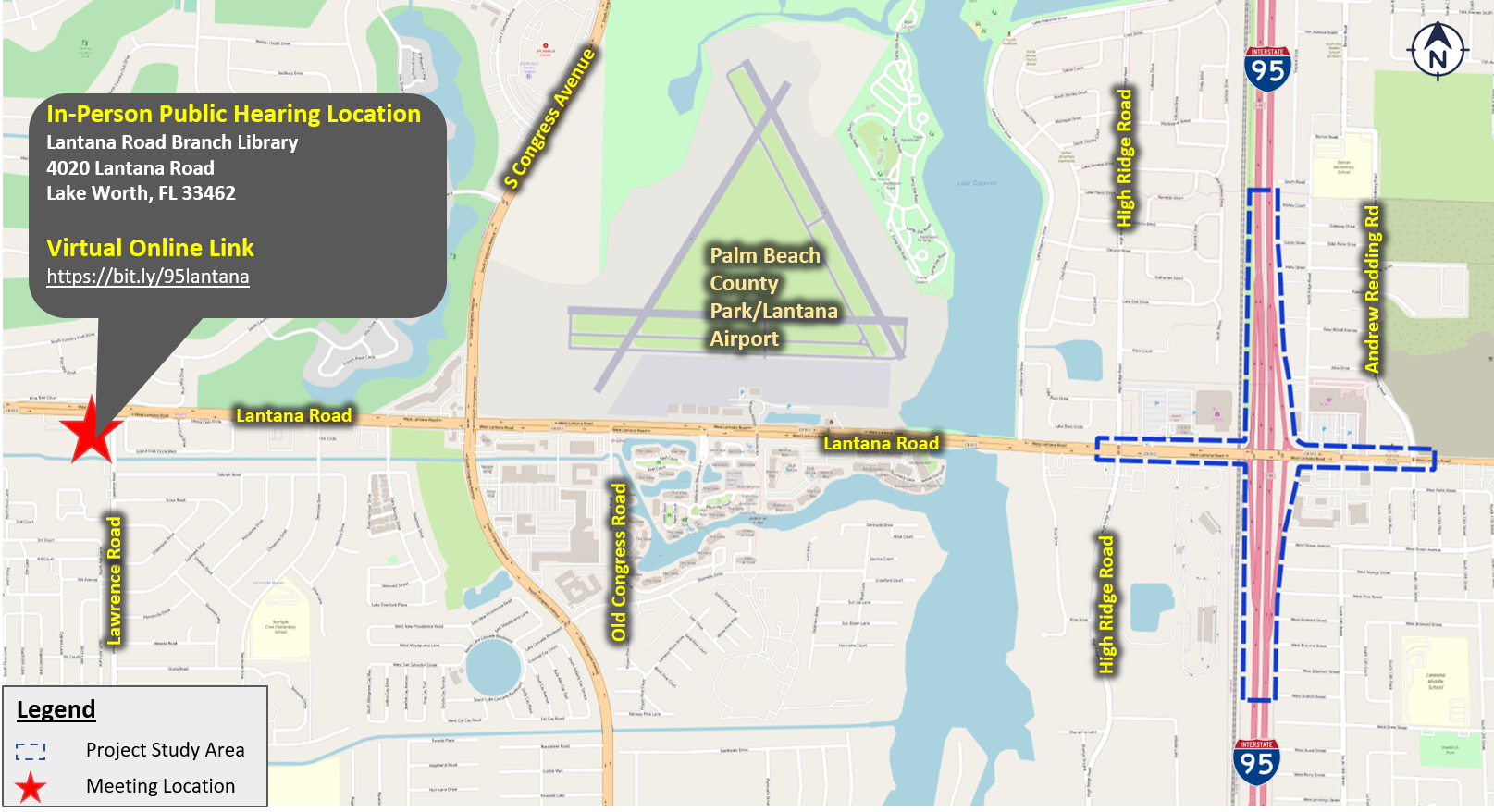 Meeting Location Map