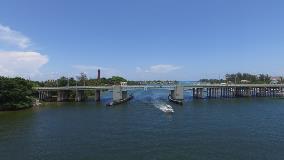 profile view of Jupiter Bridge